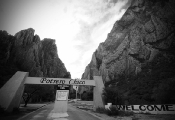 Entrance to Potrero Chico Canyon